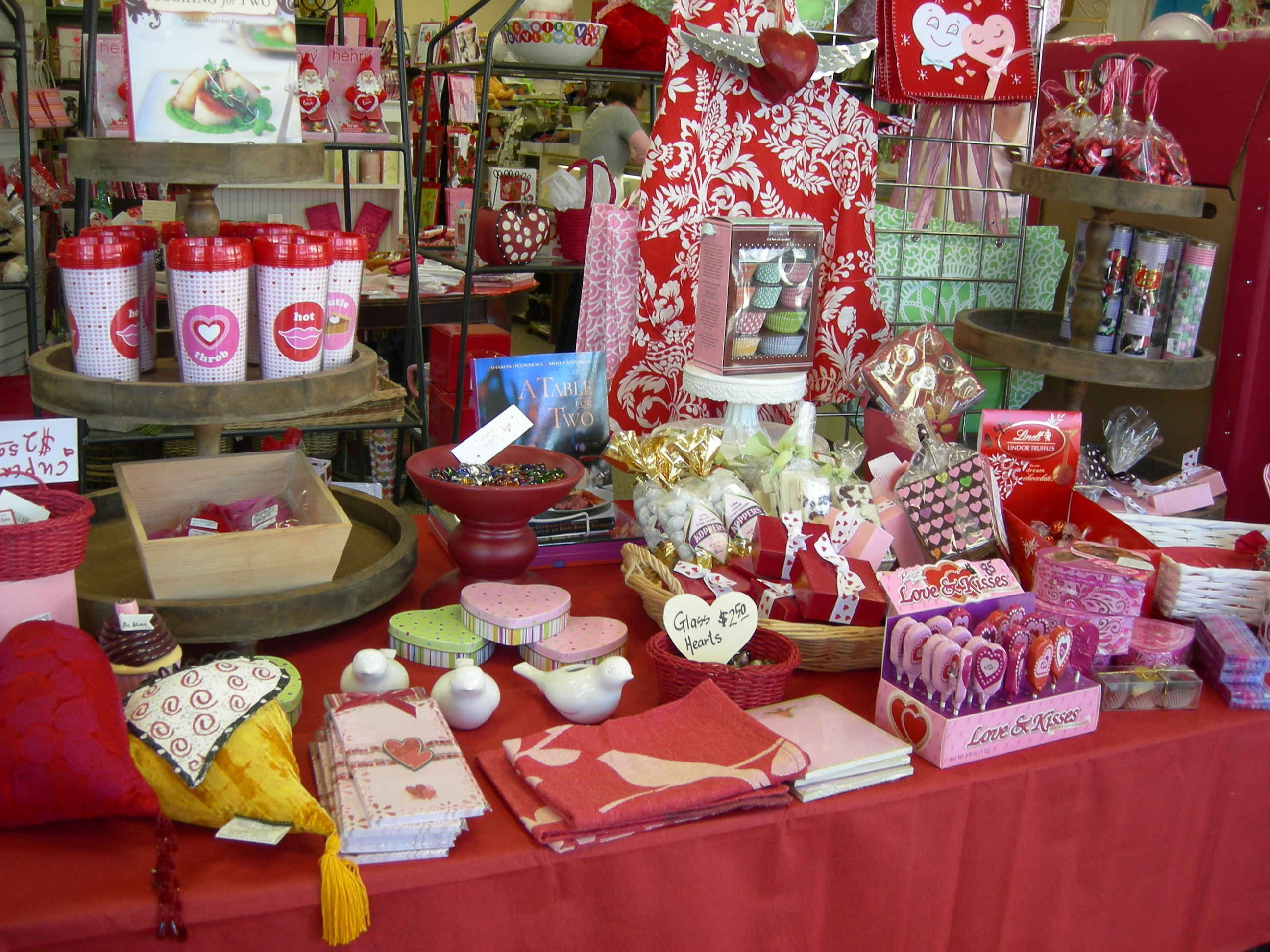 Valentine Display at the Seventeen Steps