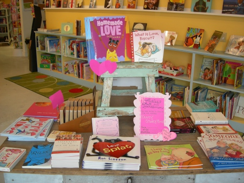 Little Shop of Stories had a good selection of Valentine-themed books for the child in all of us!