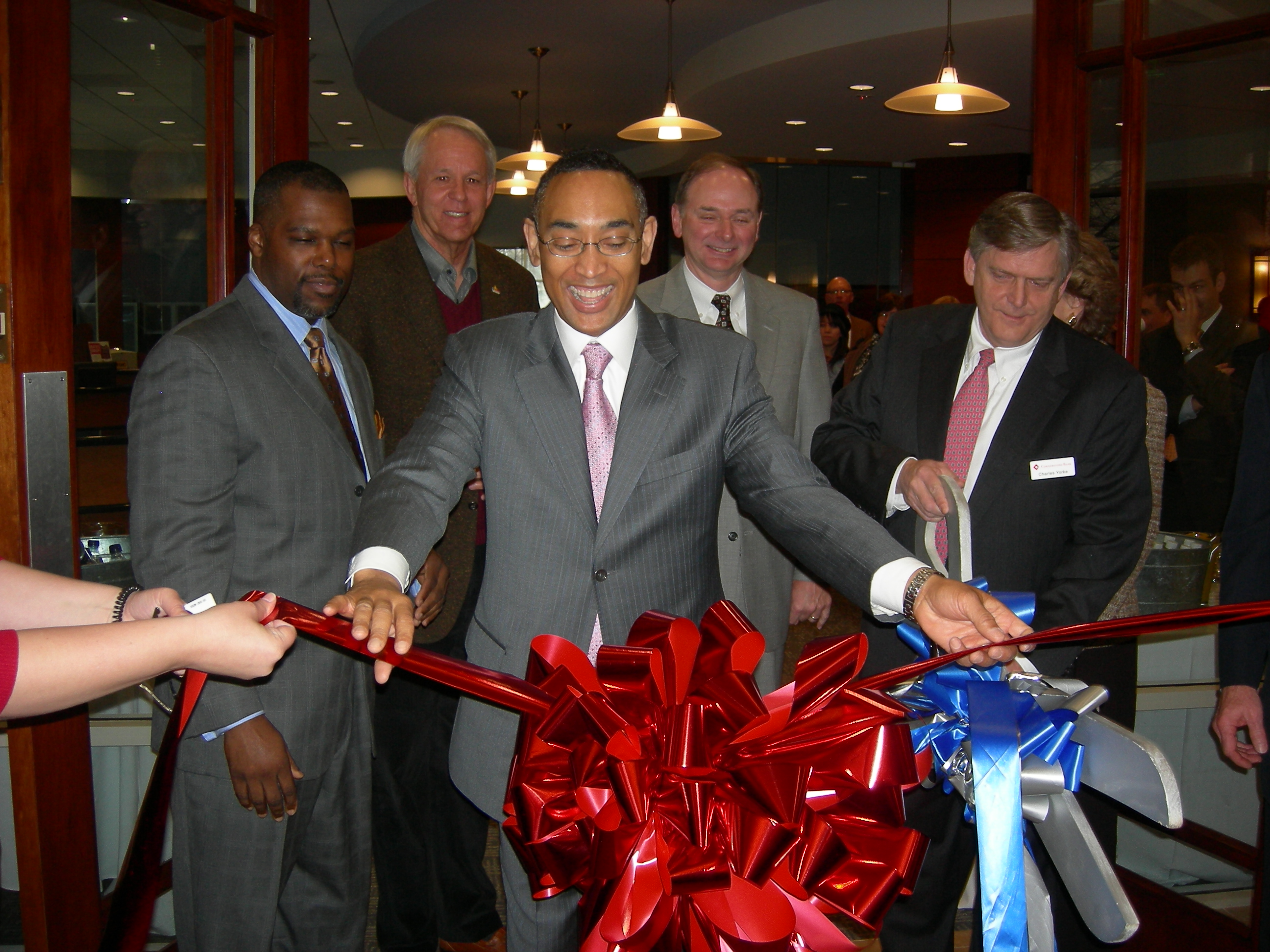 Cornerstone Bank Ribbon Cutting