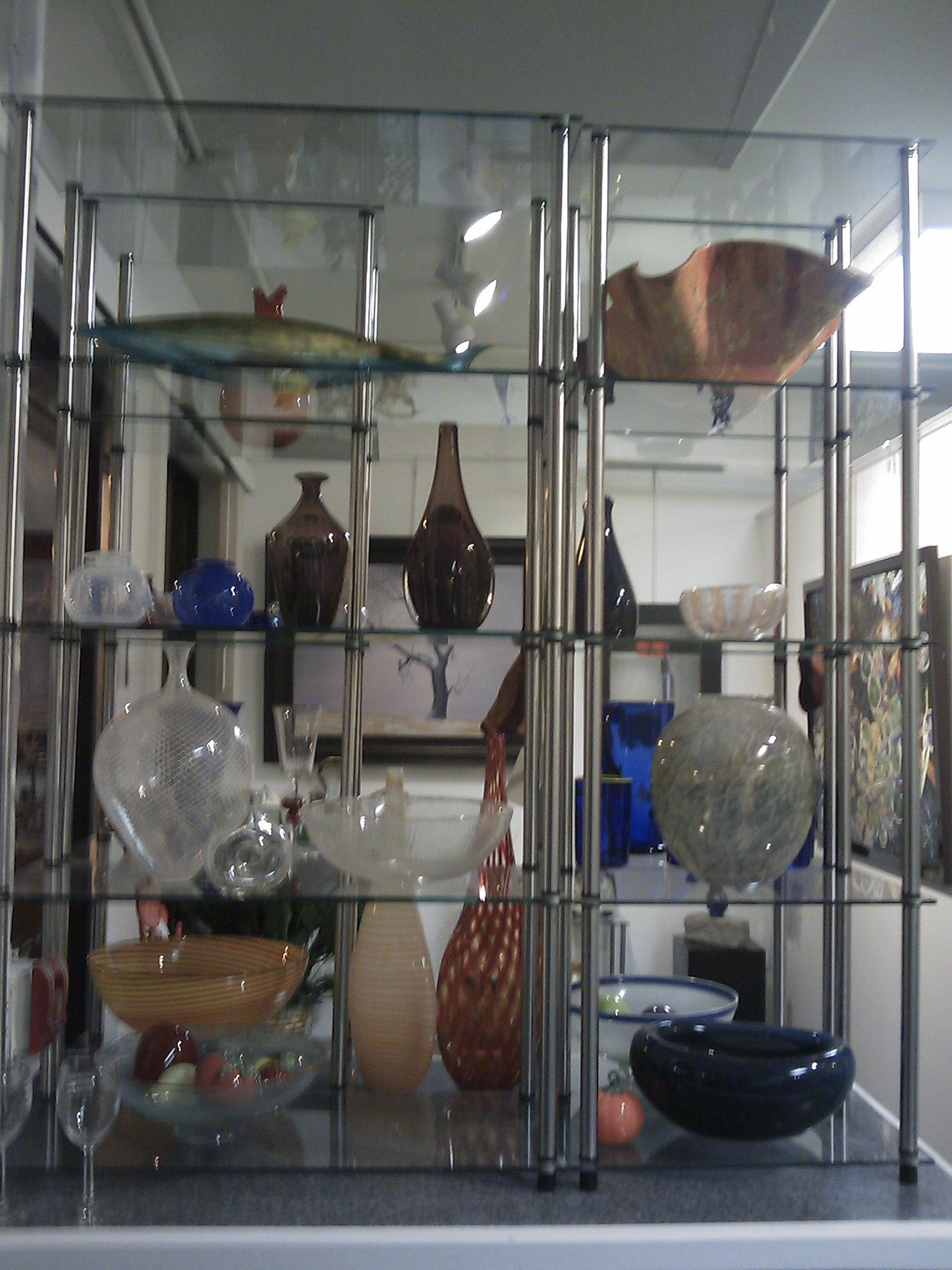 Glass and Ceramics on Display
