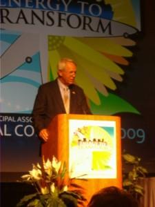 Mayor Floyd addresses GMA
