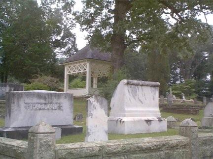 Decatur Cemetery gazebo