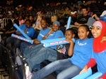 Watching the Atlanta Dream