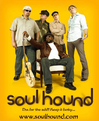 Soulhound Plays the Concert on the Square on Saturday at 7 pm