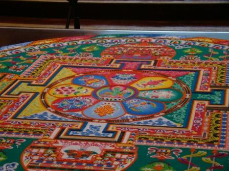 Close-up of Sand Mandala