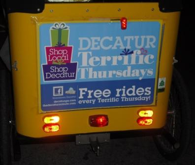 pedicab sign