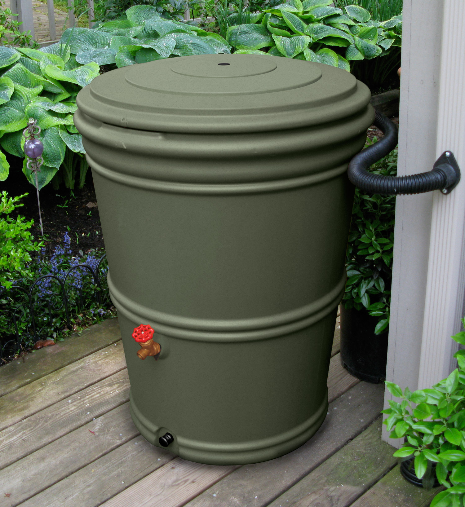The Rain Barrel Depot is offering a 30% off sale on rain barrels for ...