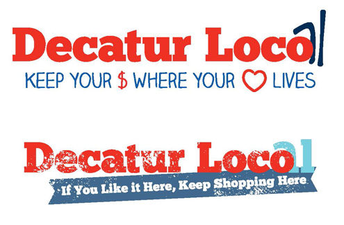 We want your feedback buy local slogans the decatur minute