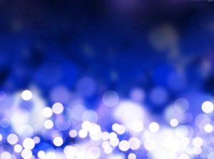 blue christmas-lights-background